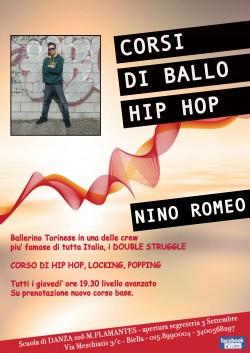 CORSI DI HIP HOP DANCE CON NINO ROMEO